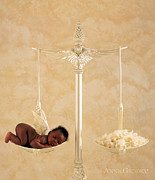 Angel Photo Posters - Untitled Poster by Anne Geddes