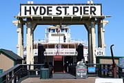 Wingsdomain Art and Photography - 1890 Steam Ferryboat Eureka At The Hyde...