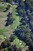 Private Club - 18th Hole Gulph Mills Golf Club Aerial 200 Swedeland Road Conshohocken PA 19428 by Duncan Pearson