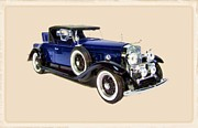 Fire Images Digital Art - 1931 Cadillac V16 Roadster by Garry Staranchuk
