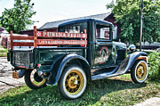Antique Auto Originals - 1931 Ford Truck by Guy Whiteley