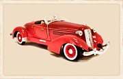Cadillac Digital Art Originals - 1935 Auburn Speedster by Garry Staranchuk