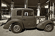 Steve Harrington - 1940 Bantam Coupe sepia