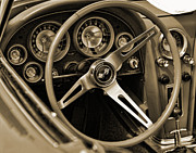 Gordon Dean II - 1963 Chevrolet Corvette Steering Wheel...