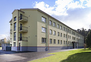Residential Structure Prints - A Hostel For Teenagers School Age Young Print by Jaak Nilson