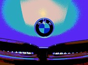 2009 Digital Art Prints - 328i-CRC2012-BMW-PSY-101 Print by Chuck Re
