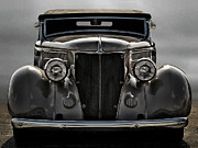 Classic Ford Posters - 36 Ford Convertible Coupe Poster by Douglas Pittman