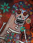 Pristine Cartera Turkus - day of the dead BRIDE