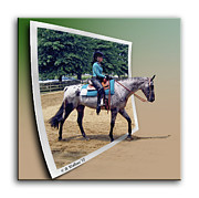 Centreville Framed Prints - 4H Horse Competition Framed Print by Brian Wallace