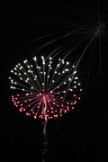 July 4th Prints Framed Prints - Fireworks Photo Framed Print by Meg Rousher