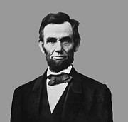 Honest Abe Metal Prints - President Lincoln Metal Print by War Is Hell Store