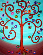 Pristine Cartera Turkus - Tree Of Life