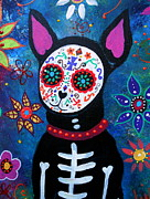 Pristine Cartera Turkus - Chihuahua Day Of The Dead