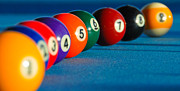 9 Ball Photos - 9 Ball Lineup by Marko Moudrak