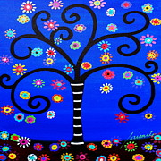 Tree Paintings - Tree Of Life by Pristine Cartera Turkus