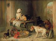 Sir Edwin Landseer - A Jack in Office