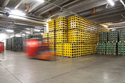 Manufacturing Photos - A Modern Brewery Warehouse In Estonia by Jaak Nilson