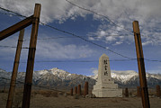 War Monuments And Shrines Prints - A Monument To Japanese- Americans Print by Phil Schermeister