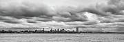Skylines Photo Originals - A Rotten Day in Buffalo  9230 by Guy Whiteley