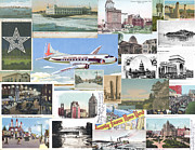 Plane Mixed Media Posters - A Sense of Place Poster by Eric Edelman