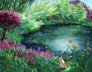 Laura Iverson - A Spring Day in the Garden
