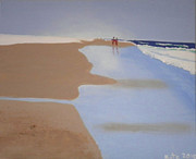 Kate Farrant - A walk on the beach