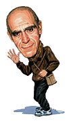 Caricatures Art - Abe Vigoda by Art