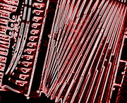 Sue Jenkins - Accordion In Red