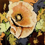 Art That Pops Framed Prints - Acrylic Flower Framed Print by Donna Wiegand