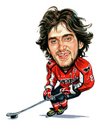 Celebrity Paintings - Alexander Ovechkin by Art