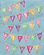 Bunting Originals - Alphabet Bunting II by Kristen Fagan