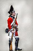 Randy Steele - American Revolution British Soldier