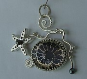 Original Design Jewelry - Ammonite Sea Life by Beverly Fox