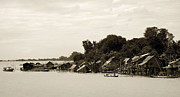 RicardMN Photography - An island village on River Irrawaddy
