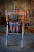 Processor Prints - Antique Apple Press Print by Dave Mills