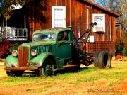 Barbara Bowen - Antique Tow Truck