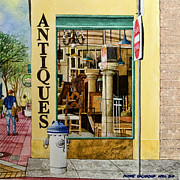 Furniture Store Paintings - Antiques by Andre Salvador