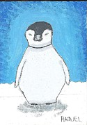 Penguin Drawings - Arctic Penguin by Art by Kids  For Kids