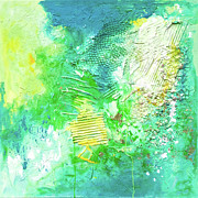 Blending Mixed Media - Arree Verde by Viaina