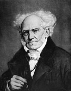 Sideburns Metal Prints - Arthur Schopenhauer Metal Print by Granger