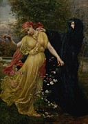 Valentine Cameron Prinsep - At The First Touch of Winter Summer...