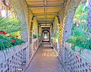 Mike Covington Art - Atalaya Breezeway by Mike Covington