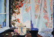 Hanne Lore Koehler Print Paintings - Autumn Aromas by Hanne Lore Koehler