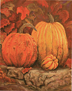 Stones Pastels - Autumn Harvest by Peggy McMahan