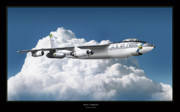 Aviation Poster Art - B-47 Stratofortress by Larry McManus