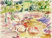 Intuitive Artwork Originals - b. Dunfield Creek by Arthur Kvarnstrom