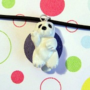 Harp Jewelry - Baby Harbor Seal Endangered Animini Necklace by Pet Serrano