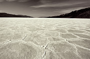 Salt Flats Digital Art - Bad Water Death Valley by Al Reiner