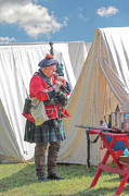 Randy Steele - Bagpipes in Camp
