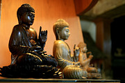 Asia Sculptures - Bali Buddhas by Unknown
